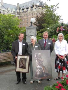 Empress Hotel site dedication