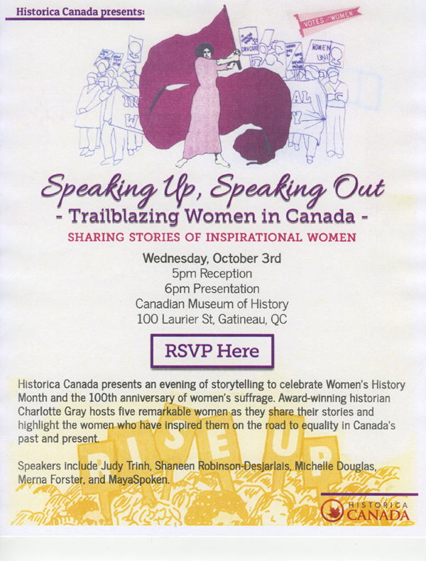Trailblazing Women in Canada