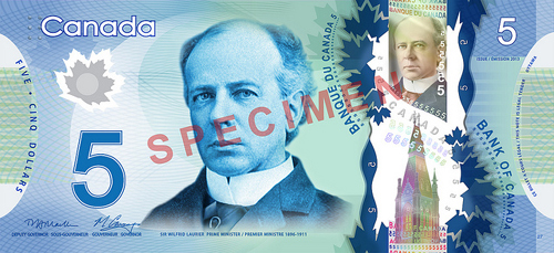 Laurier bank note