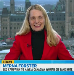 Merna Forster CTV interview Ottawa