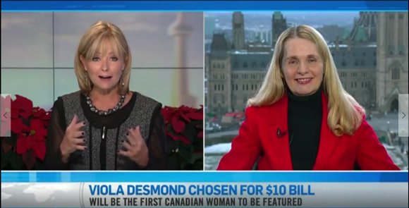Bev Thompson and Merna Forster CTV interview Ottawa
