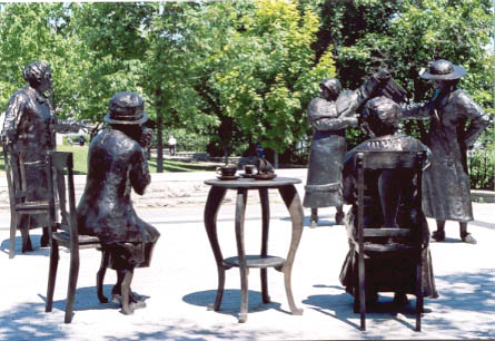 women are persons monument