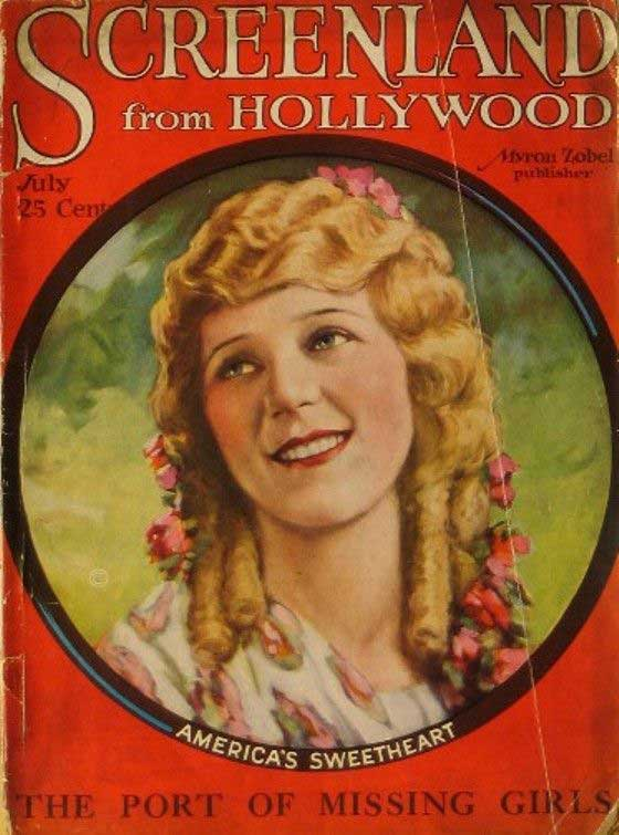 Mary Pickford magazine cover