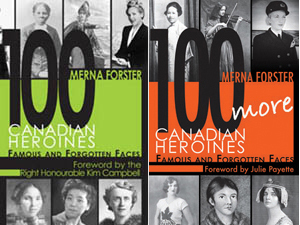 Canadian Heroines books