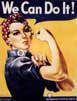 Poster of WWII Rosie the Riveter