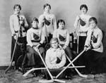Women's Hockey Team Queen's, LAC PA-127274