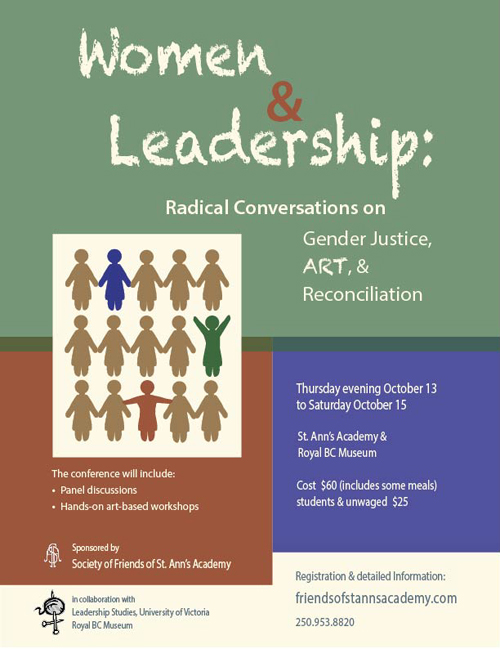 Women and Leadership Poster